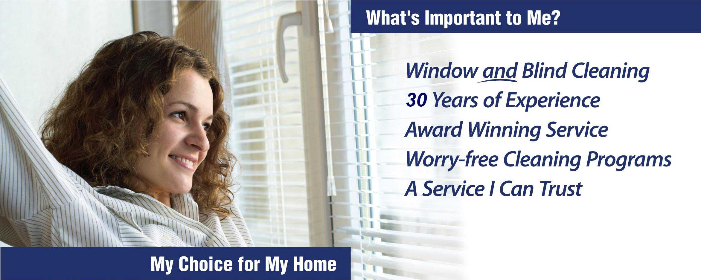 Window and Blind Cleaning